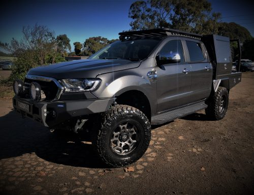 2019 FORD RANGER PX3 BUILD